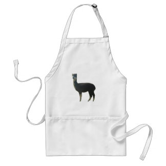 Female alpaca adult apron