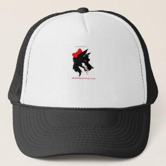 female alpha trucker hat