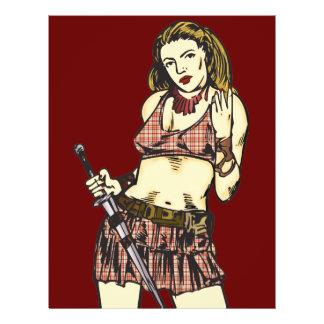 Female Amazon Women Custom Flyer