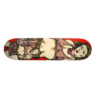 Female Amazon Women Skate Deck