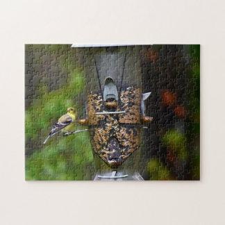 Female American Goldfinch Jigsaw Puzzle