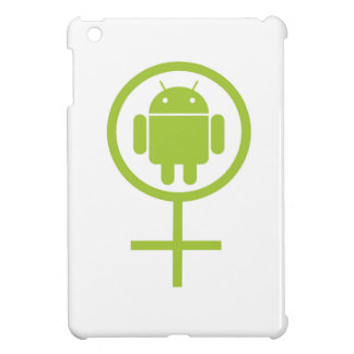 Female Android (Software Developer) Bug Droid iPad Mini Covers