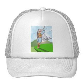 Female Archer Anime Art Gallery Character Trucker Hat