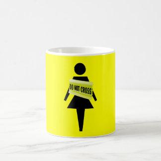 Female attitude funny image coffee mug