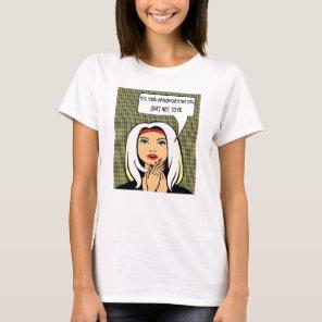 Female attitude tshirt #12