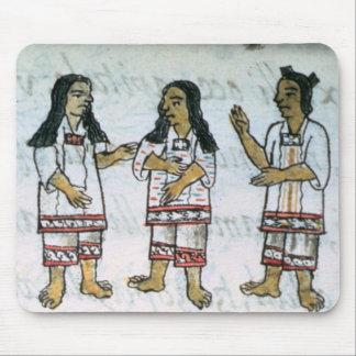 Female Aztec costumes Mouse Pad