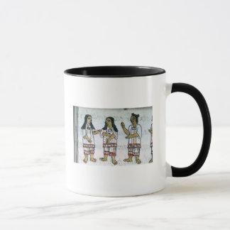 Female Aztec costumes Mug
