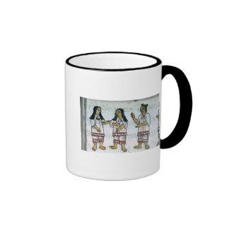 Female Aztec costumes Ringer Mug