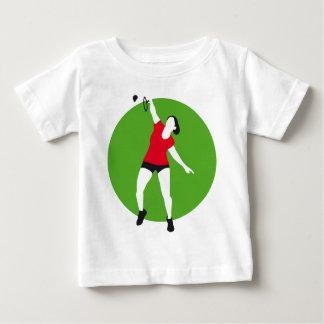 female badminton player woman playeras