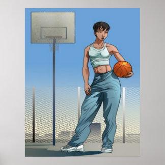 Female Baller Poster