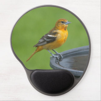 Female Baltimore Oriole Gel Mouse Pad