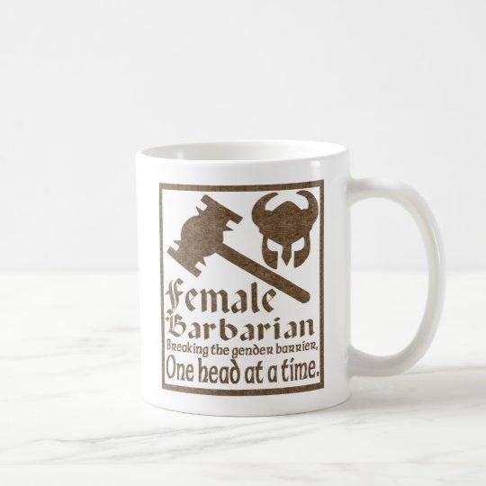 Female Barbarian Coffee Mug