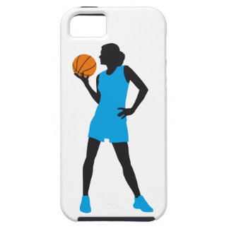female basketball more player iPhone SE/5/5s case