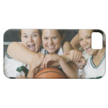 Female basketball team smiling, portrait iPhone 5 cover