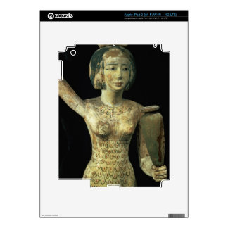 Female bearer of offerings carrying a water vase i decal for iPad 3