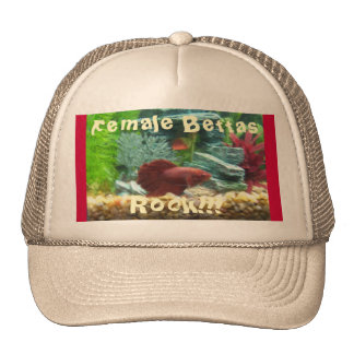 Female Bettas, Rock!!!2 Hat