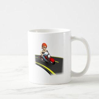 Female Biker Coffee Mug