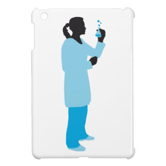 female biologist, chemist, physicist case for the iPad mini