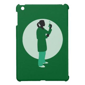 female biologist, chemist, physicist cover for the iPad mini