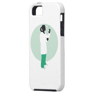 female biologist, chemist, physicist iPhone SE/5/5s case