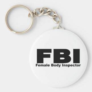 Female Body Inspector Keychain