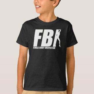 Female Body Inspector Slogan T-Shirt