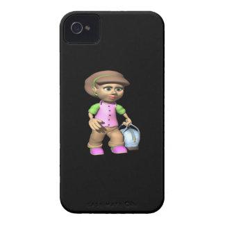 Female Bowler Case-Mate iPhone 4 Case
