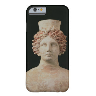 Female bust with kalathos from Ibiza, 5th century Barely There iPhone 6 Case