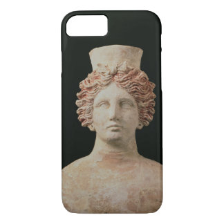 Female bust with kalathos from Ibiza, 5th century iPhone 8/7 Case