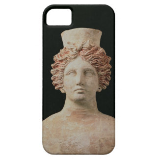 Female bust with kalathos from Ibiza, 5th century iPhone SE/5/5s Case
