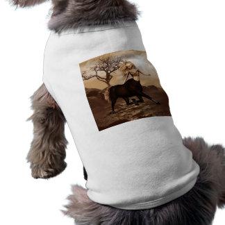 Female Centaur  Pet Shirt