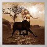 Female Centaur Posters