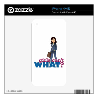 Female CEO Skins For The iPhone 4