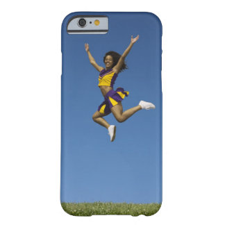 Female cheerleader jumping in air 2 barely there iPhone 6 case