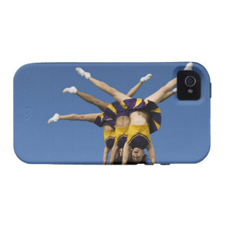 Female cheerleaders doing handstands vibe iPhone 4 cover