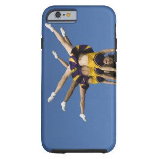 Female cheerleaders doing handstands tough iPhone 6 case