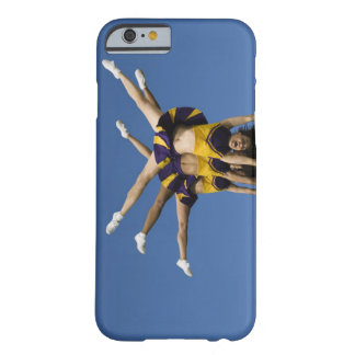 Female cheerleaders doing handstands barely there iPhone 6 case