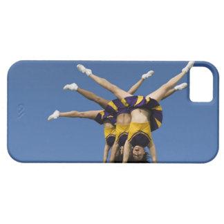 Female cheerleaders doing handstands iPhone 5 cover