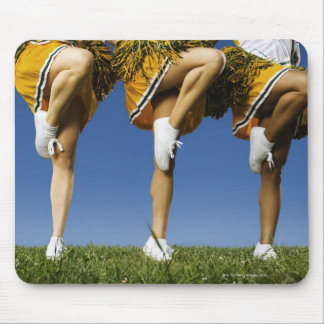 Female cheerleader's legs (low section) mouse pad