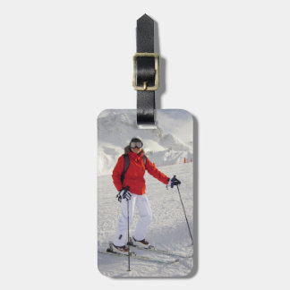 Female Cold Image Tag For Luggage