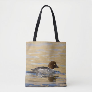 Female Common Goldeneye Tote Bag