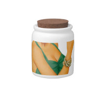 female copd baby candy jar