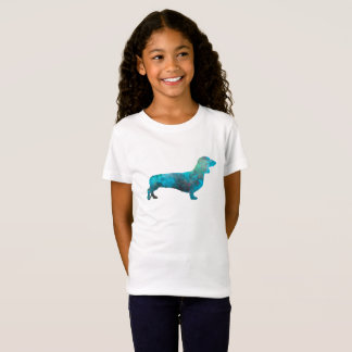 Female Dachshund in watercolor T-Shirt