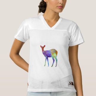 Female deer 02 in watercolor