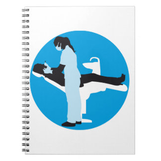 female dentist notebook