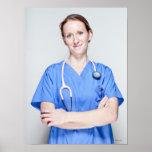Female Doctor 2 Poster