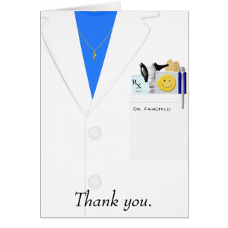 Thank You Doctor Gifts on Zazzle