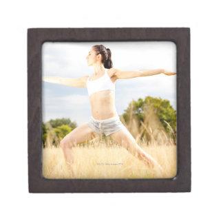 Female Does Yoga Stretch Gift Box