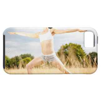 Female Does Yoga Stretch iPhone SE/5/5s Case