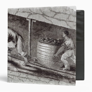 Female Drawer in a Coal-Pit at Little Bolton 3 Ring Binder